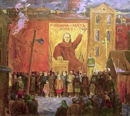 Картины о Великой Отечественной войне. Часть 1. (28 фото)