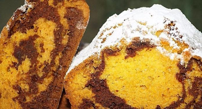 Тыквенный кекс «Зебра». Для тех, кто не представляет жизни без вкусняшек!
