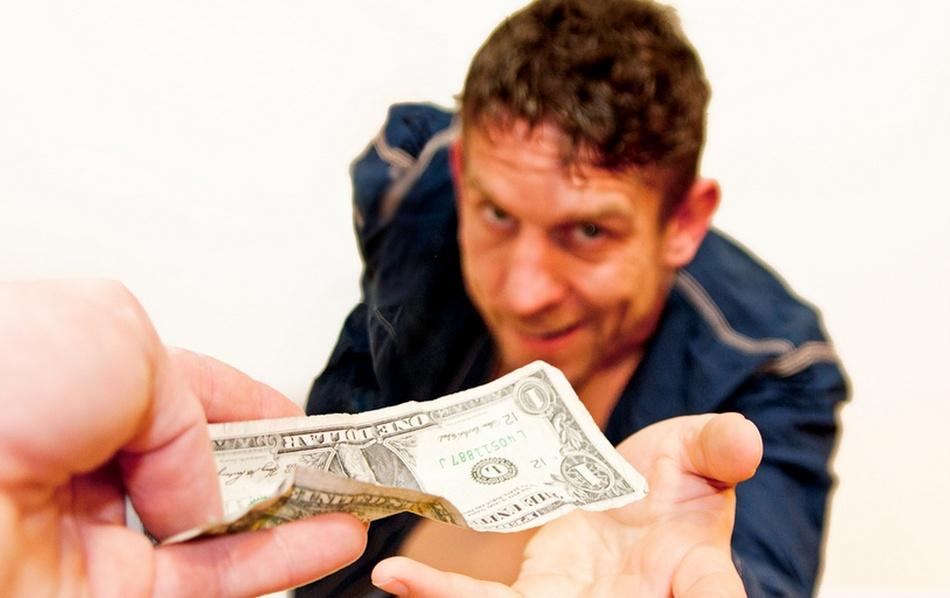 Подайте 5 рублей, кому не жалко! Вы бы подали такому другу?