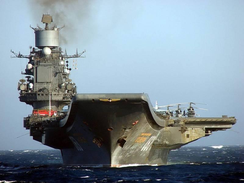 ОСК: после модернизации «Адмирал Кузнецов» прослужит не менее 20 лет