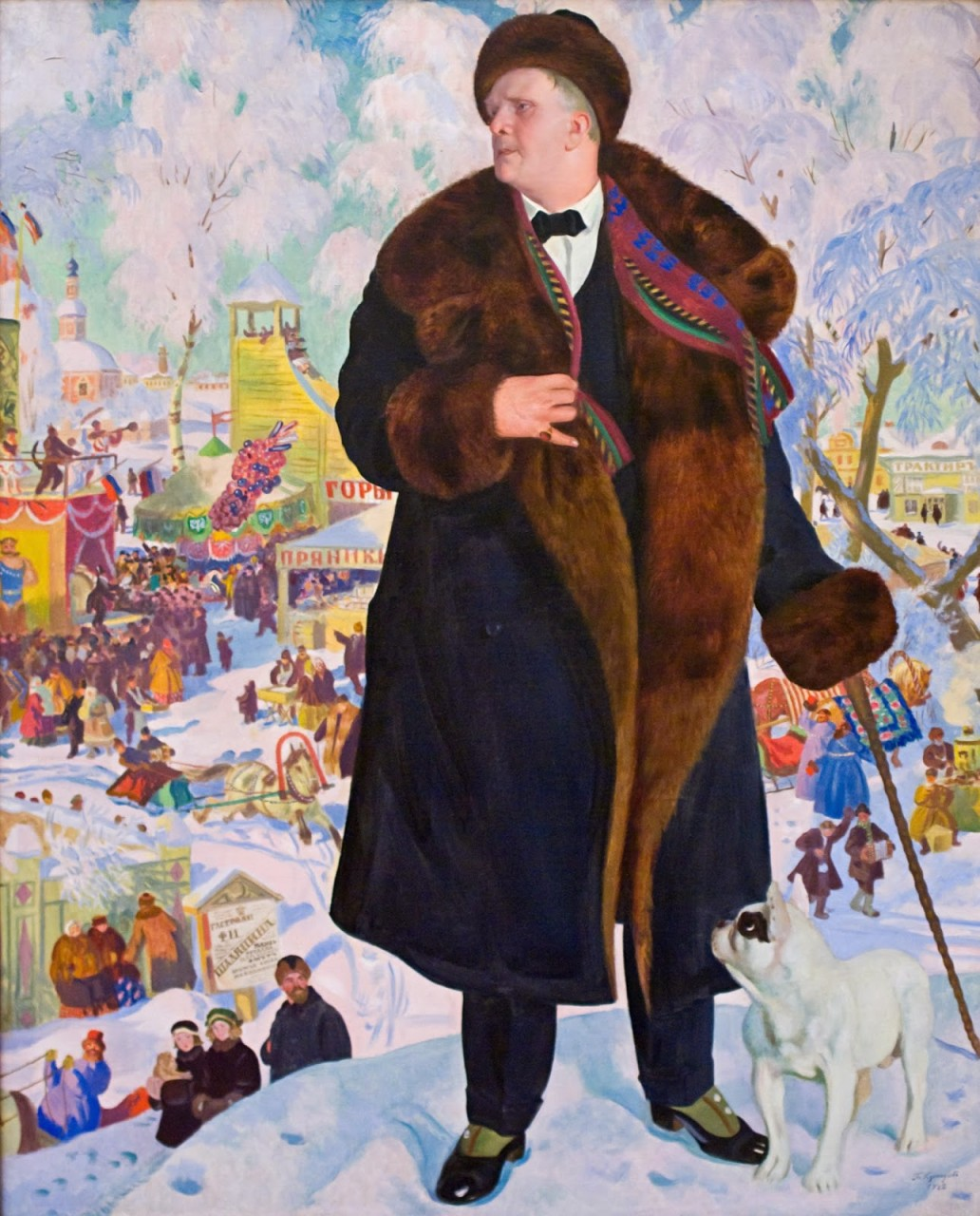 Борис Кустодиев и его картины