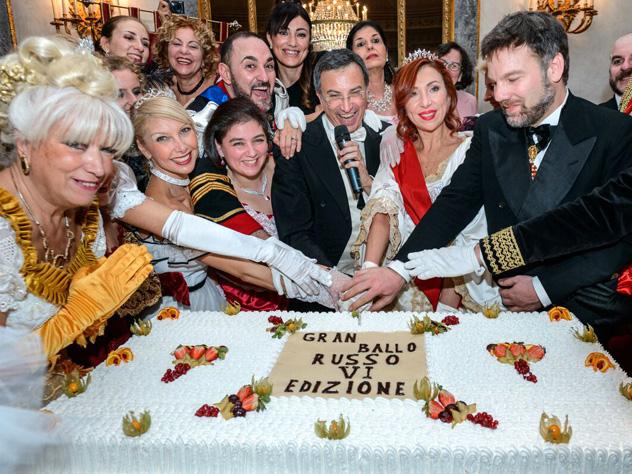 Старый Новый год в Риме отметили Русским балом с чёрной икрой