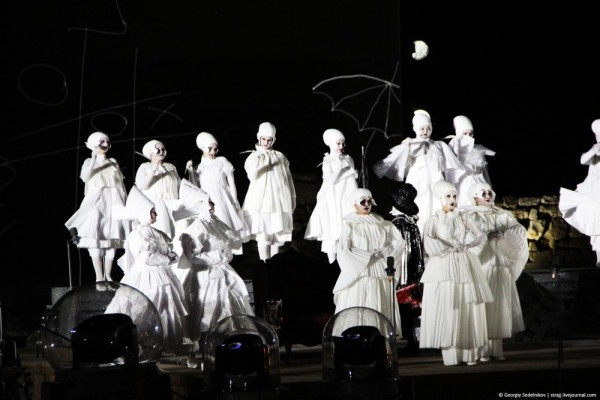 Опера под открытым небом дре…