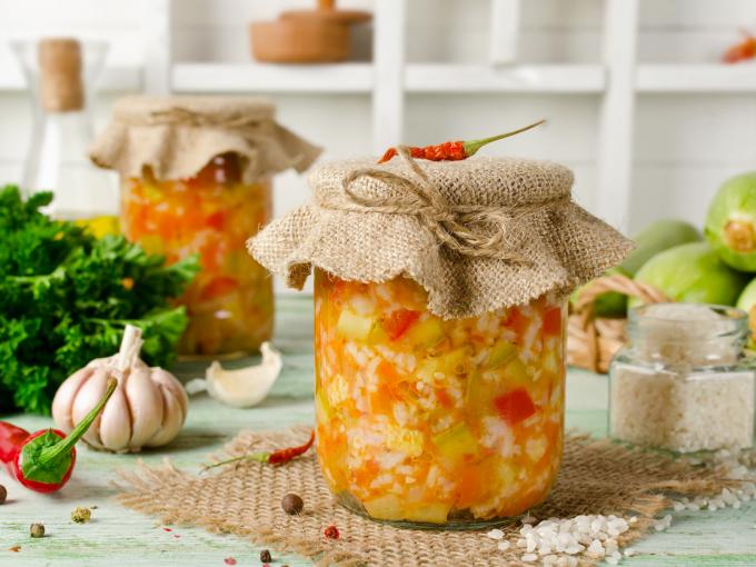 Вкусные заготовки: салат