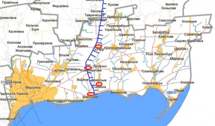 Угроза на Мариупольском направлении