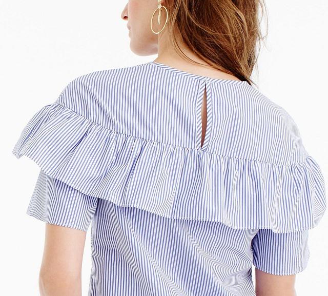 b284d6dc53c Шьем блузки со спущенными и открытыми плечами — Самоделкино.Инфо — своими  руками. Фото