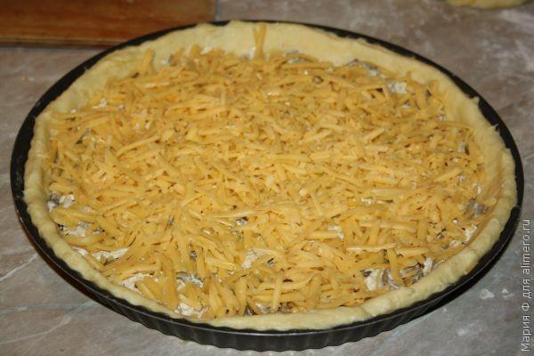 Пирог, жульен