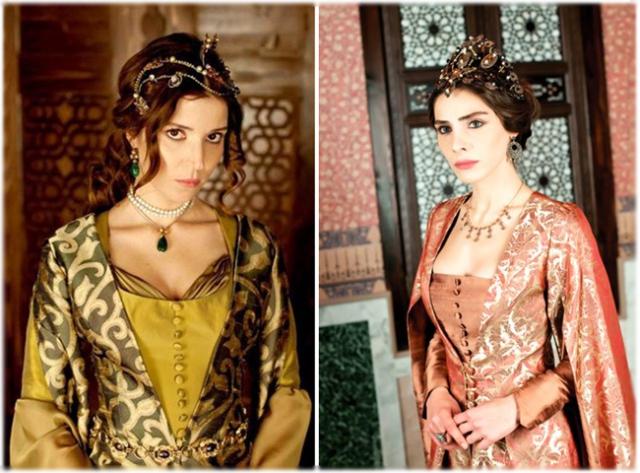 Махидевран и Хатидже – самые стройные в сериале «Великолепный век»