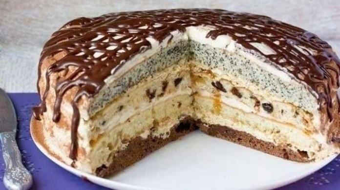 Торт «Роскошный Сметанник». Очень рекомендую вам попробовать это чудо!