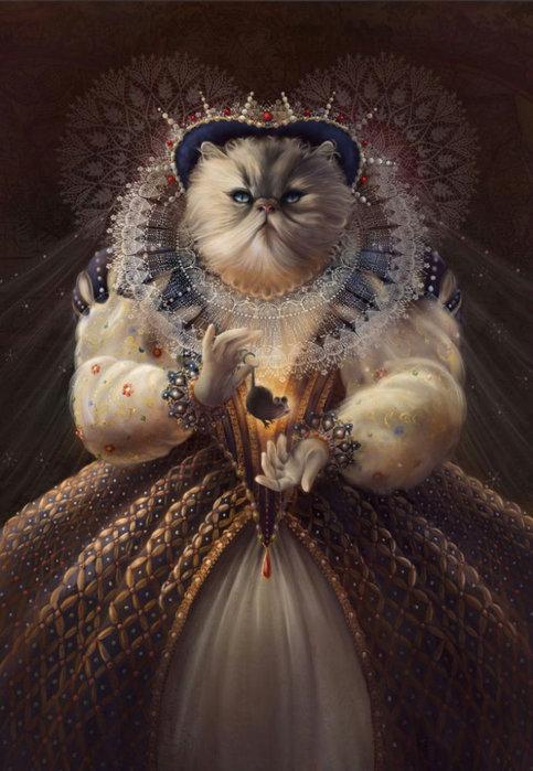 Как одна маленькая кошка погубила большую любовь монархов