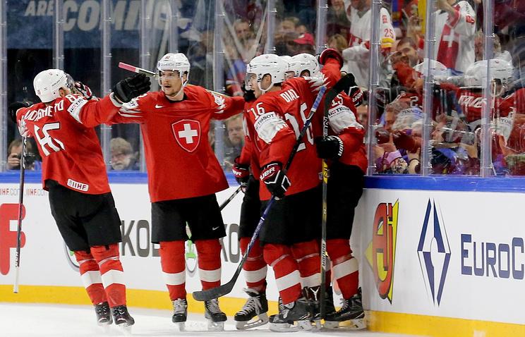 Сборная Швейцарии по хоккею победила Канаду и вышла в финал чемпионата мира