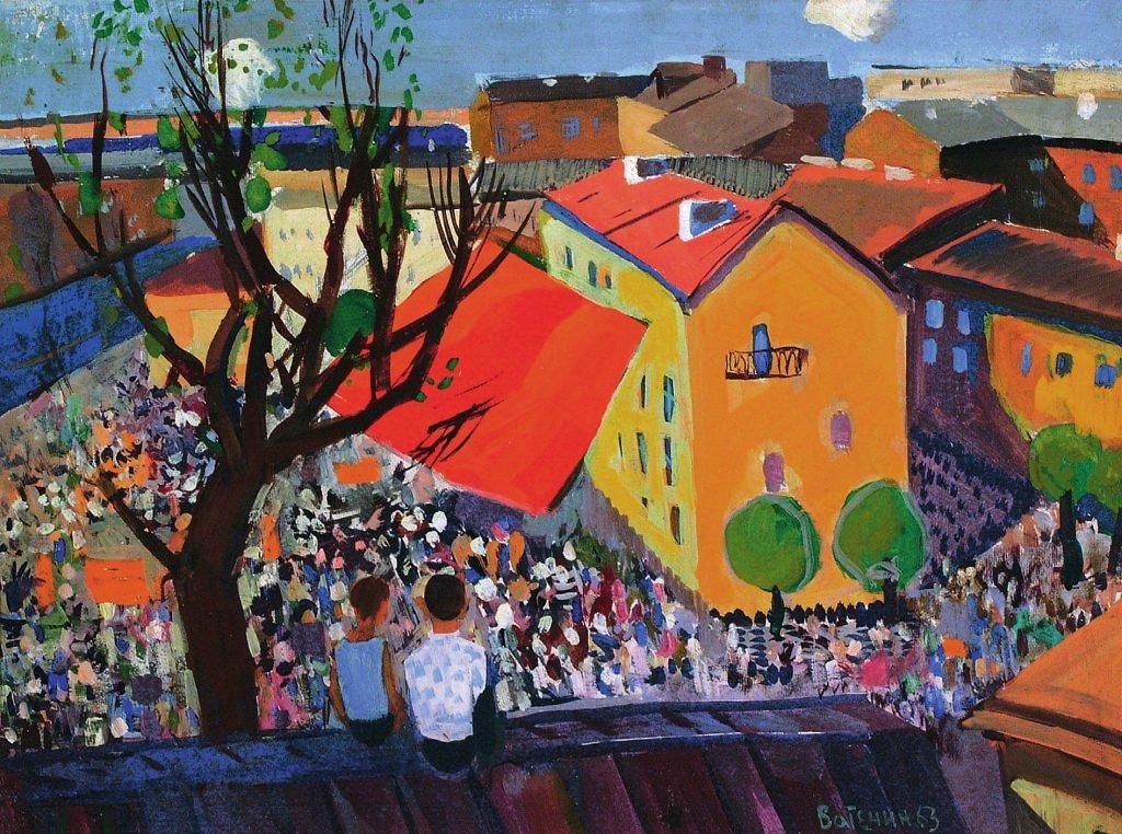 «Вселенная внутри»: в Северной столице открывает двери выставка художника-мыслителя Валерия Ватенина
