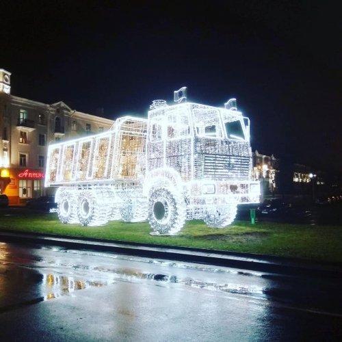 В Минске установили световую…