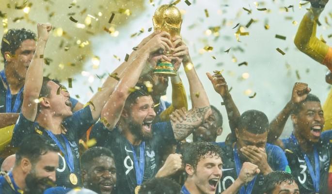 Триумф сборной Франции на ЧМ…
