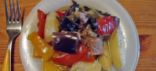 Соте из курицы с овощами - рецепт