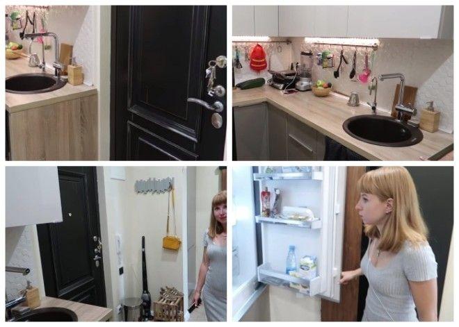 При разумной перепланировке и достаточной площади кухню можно перенести в коридор