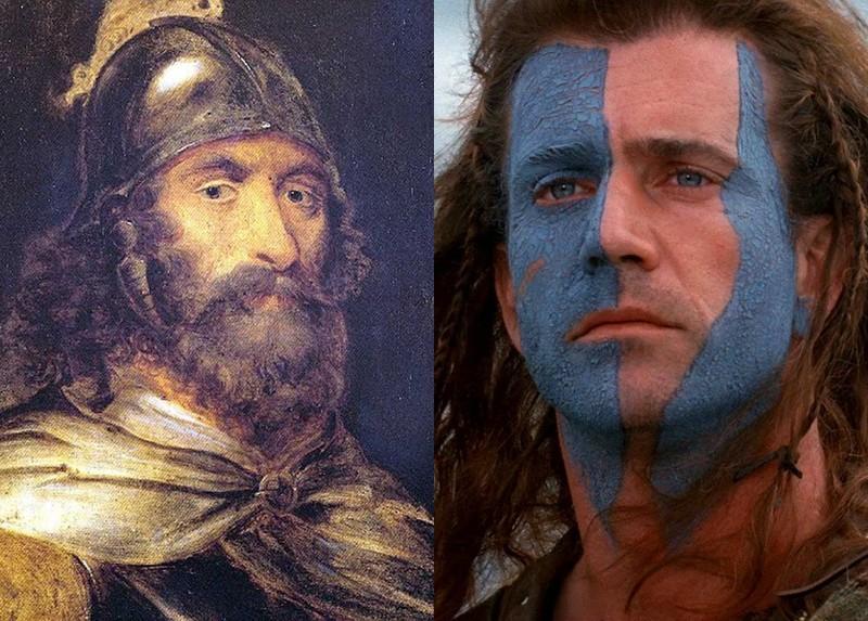 Как выглядели исторические личности вкино инасамом деле