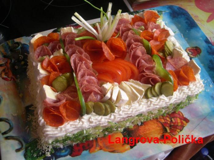 Украшение салатов фото смотреть