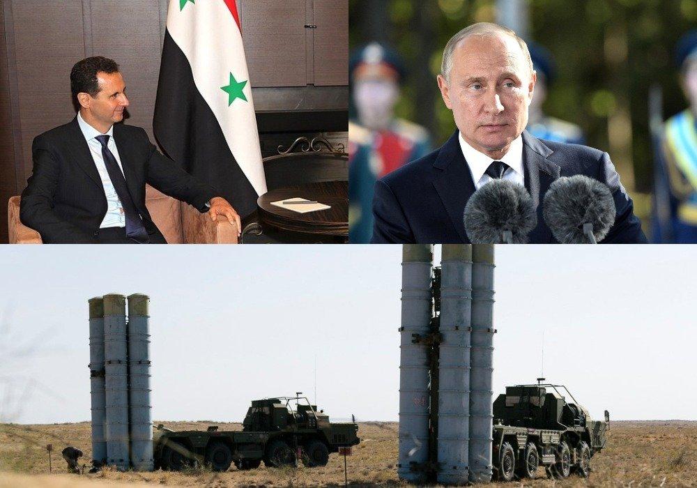 Путин и Асад обсудили поставку в Сирию ЗРК С-300