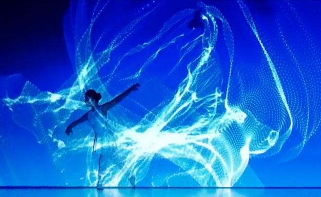 Потрясающий по красоте танец