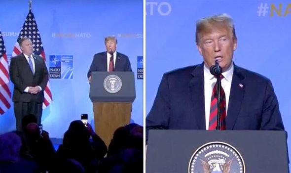 Трамп заявил о победе: после слов о выходе США из НАТО взносы в Альянс увеличились на 30 миллиардов
