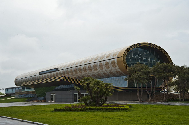 Музей Ковра в Азербайджане   Мир путешествий