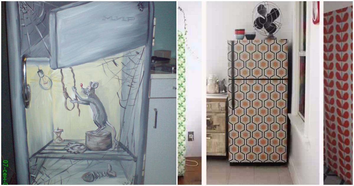 Как люди украшают свои холодильники? Интересные решения и идеи в фотографиях
