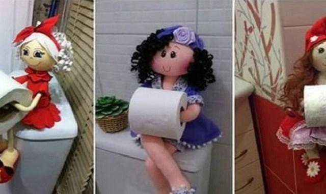 Оригинальные держатели для туалетной бумаги. выкройка и мастер-класс…