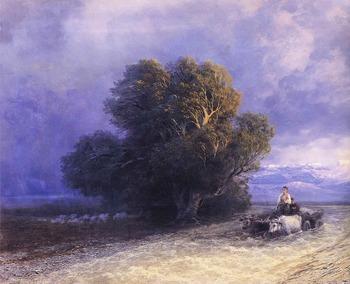 В Крыму найдены затонувшие картины Айвазовского