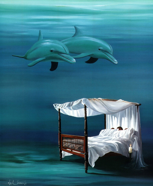 The Sea Bed (25cm x 30cm)