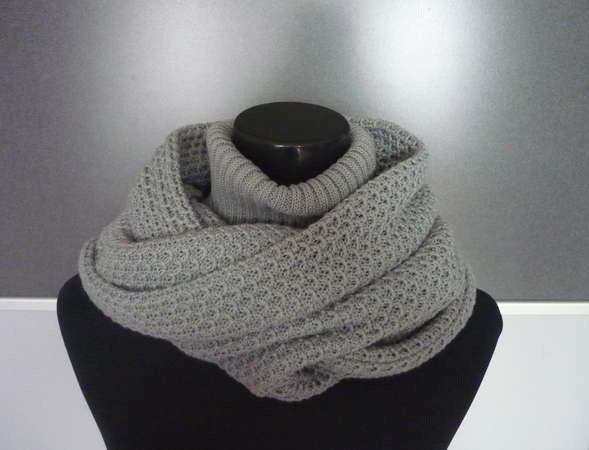 crochet and knitting beauty scarf and neck warm