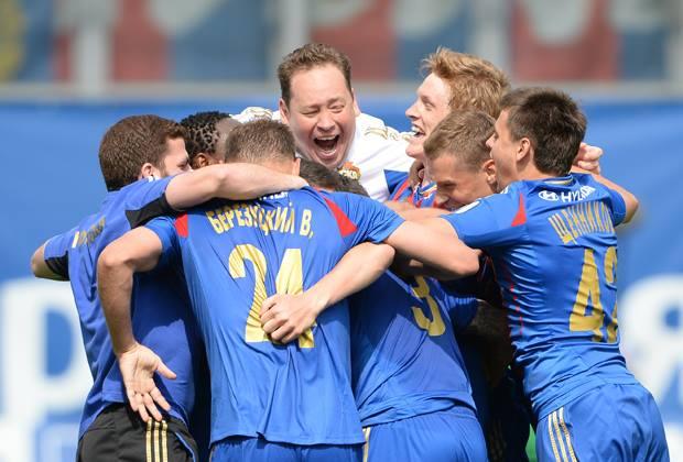 ЦСКА обыграл «Локомотив» и в пятый раз стал чемпионом России