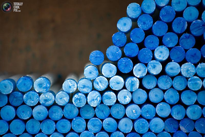 30 бодрящих фотографий в синем цвете