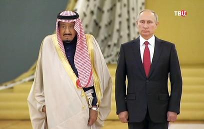В Кремле начались переговоры Путина и короля Саудовской Аравии