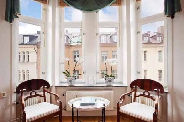 Как оформить гостиную: аристократичный интерьер