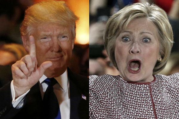 Трамп: Клинтон заслуживает тюрьмы за совершённые преступления