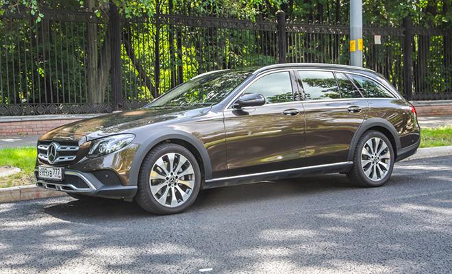 Тест-драйв: Mercedes E-Class…