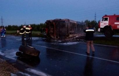 Тела восьми погибших в ДТП в Татарстане извлечены из автобуса
