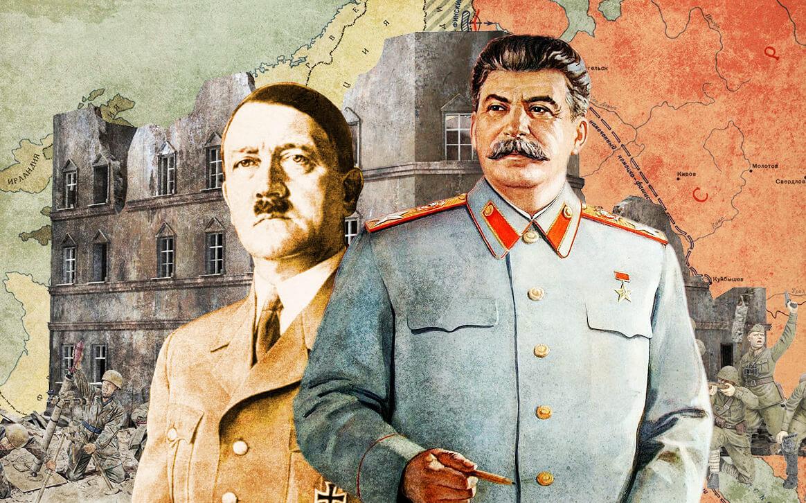 Встретились как-то Сталин и Гитлер во львовской кавьярне
