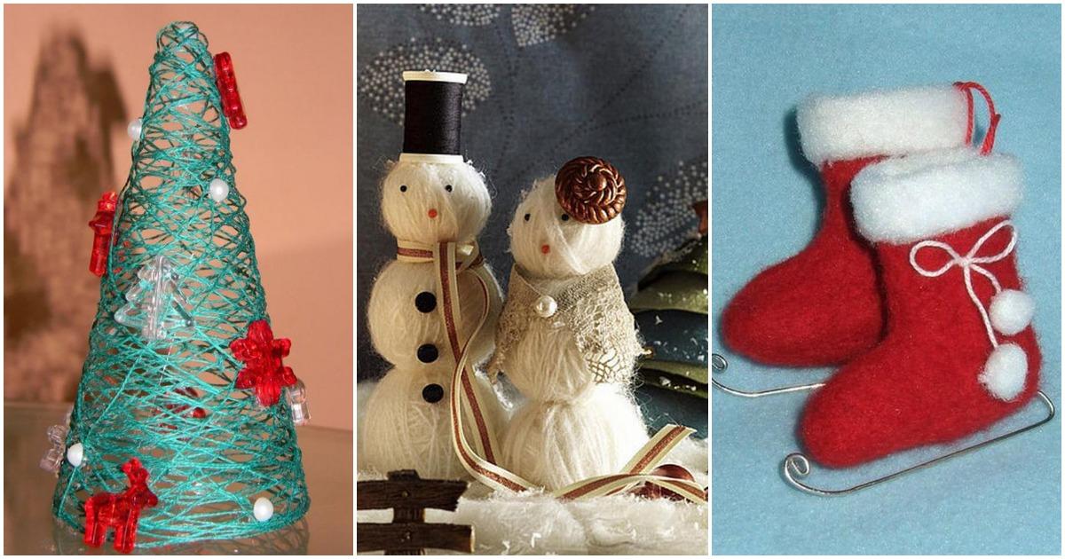 Необычные элементы декора к новогодним праздникам
