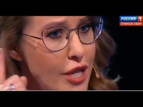 Собчак довели до слез на дебатах