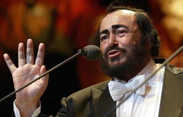Вот такой он Лучиано Паваротти
