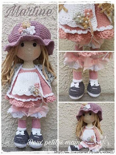 Очаровательная кукла Мартина…