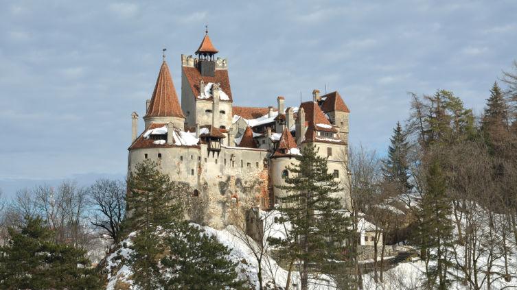Замок Бран - резиденция графа Дракулы-Цепиша