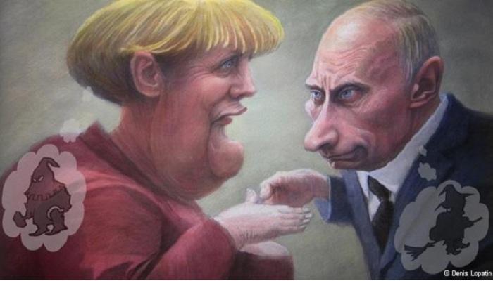 Карикатура — как выстрел в л…