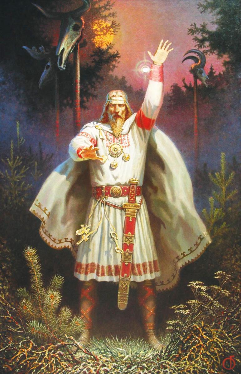 Традиционные особенности встречи праздника Бога Купала у Староверов и Родноверов.