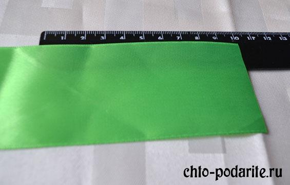 Полоска ленты длиной 10 см