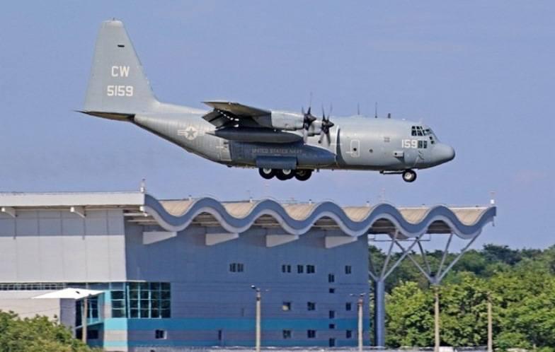 Самолеты НАТО доставили в Одессу военнослужащих для участия в учении Sea Breeze