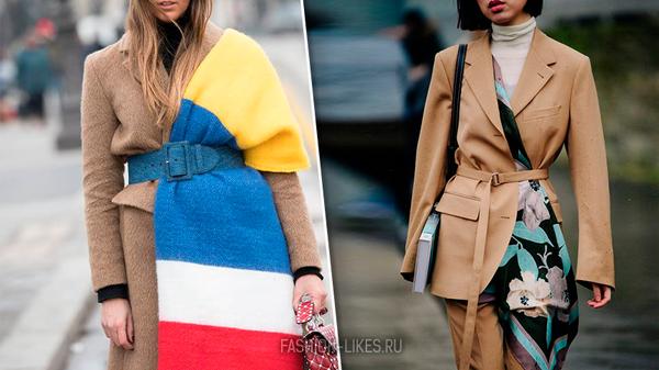 Новый способ носить привычный всем шарф, от которого мы в восторге (10 примеров)