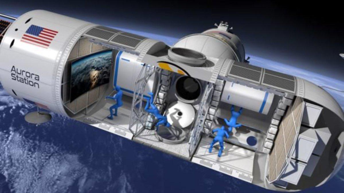 Названа дата открытия первого космического отеля